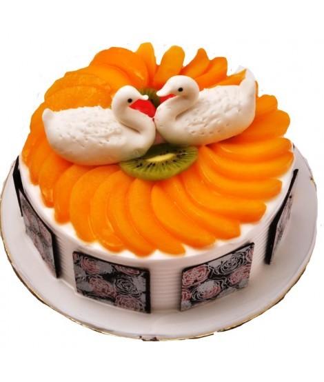 Фото tort ukrashennyj fruktami 16.
