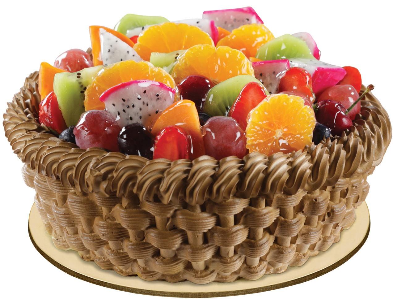 Фото tort ukrashennyj fruktami 20.
