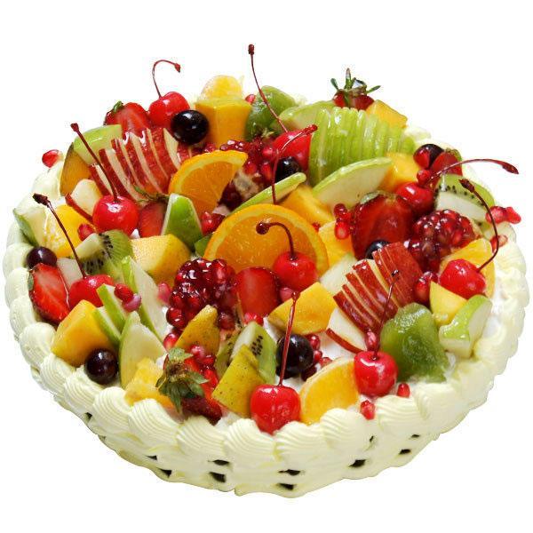 Фото tort ukrashennyj fruktami 23.
