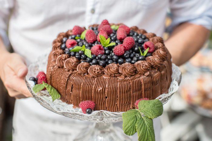 Фото tort ukrashennyj fruktami 3.
