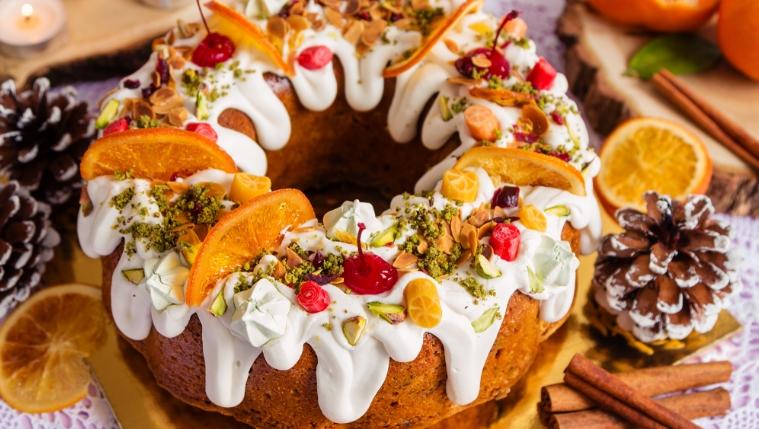 Фото tort ukrashennyj fruktami 34.