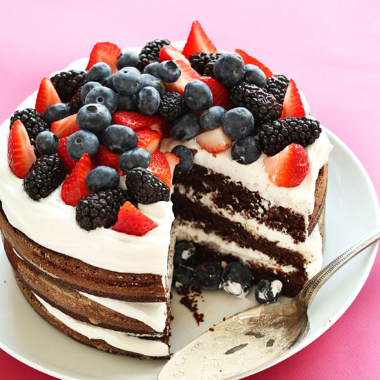 Фото tort ukrashennyj fruktami 4.