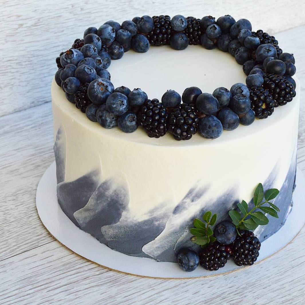 Фото tort ukrashennyj fruktami 50.