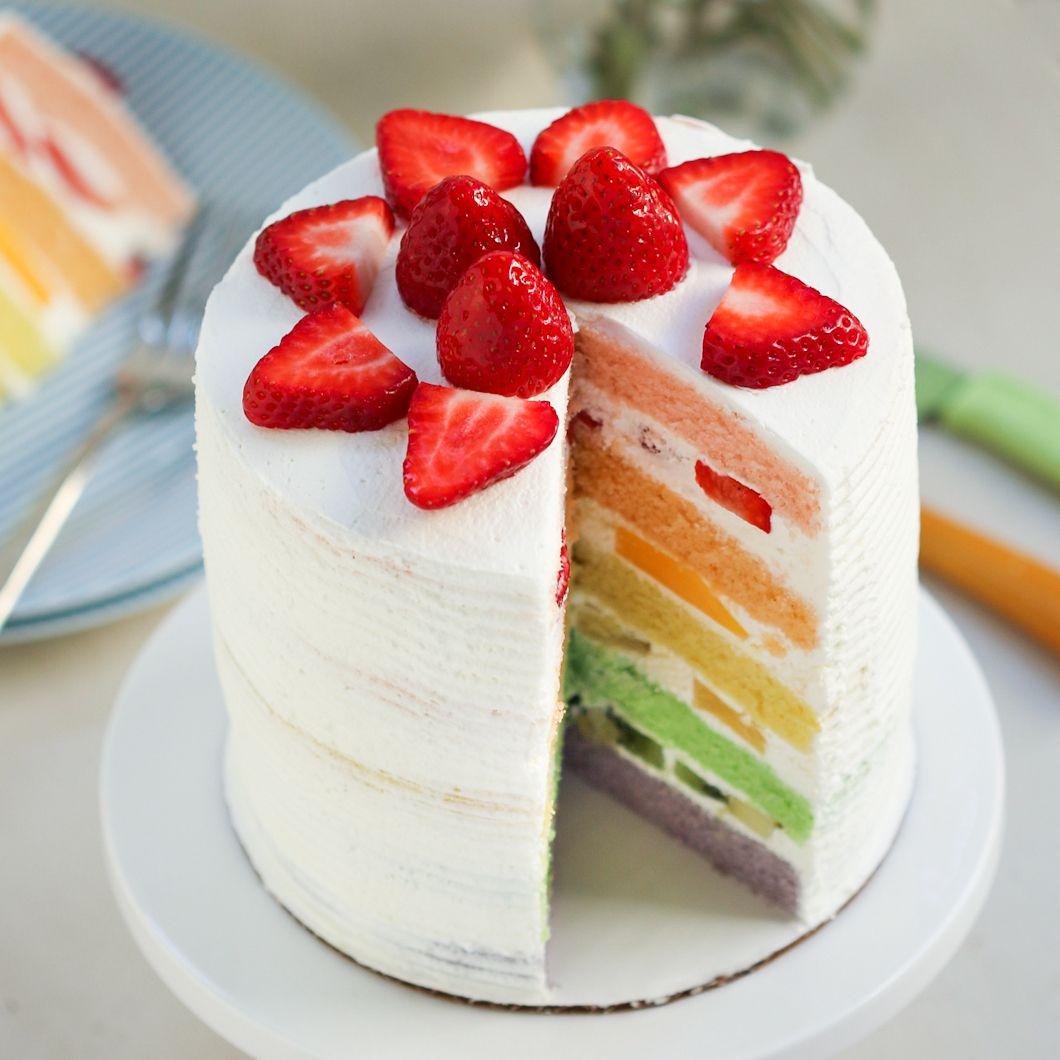 Фото tort ukrashennyj fruktami 9.