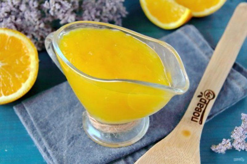 Апельсиновый соус для творожников.