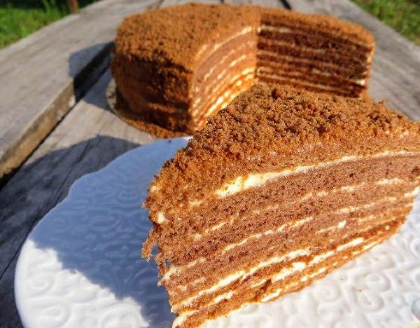 Фото recept shokoladnogo medovogo torta 03.