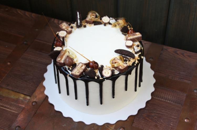 Фото tort s podtekami 30.