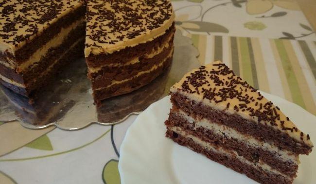 Фото shokoladniy tort s orexami 16.