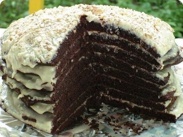 Фото recept shokoladnogo torta na kefire 03.