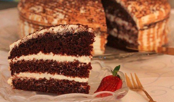 Фото recept shokoladnogo torta na kefire 06.