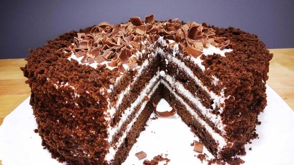 Фото recept shokoladnogo torta na kefire 15.