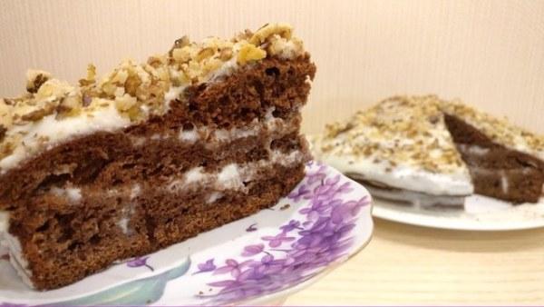 Фото recept shokoladnogo torta na kefire 18.