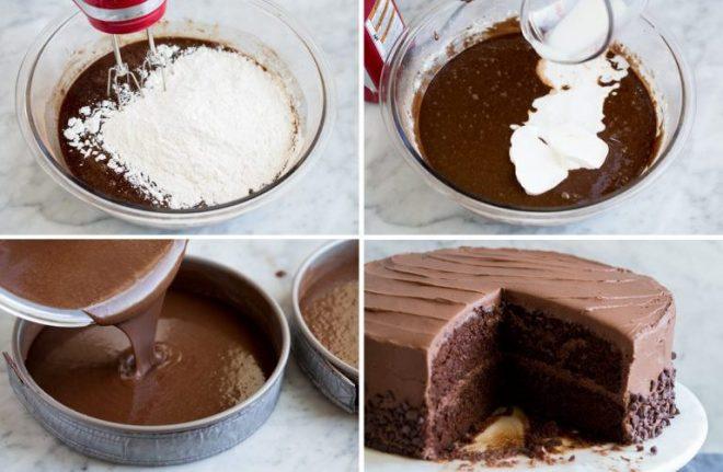 Фото prigotovlenie torta.