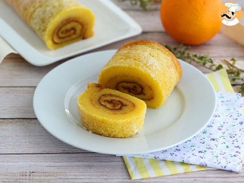 Фото roll s apelsinom i shokoladom 2.