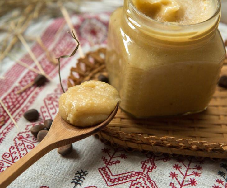 Фото Паста из кедровых орехов.