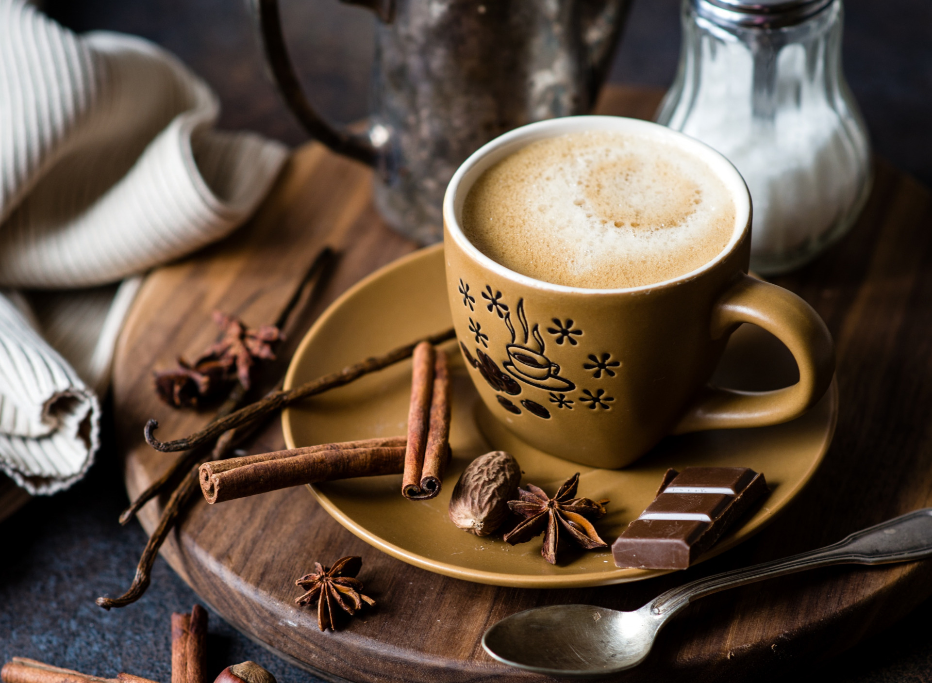 Фото чашка шоколада.