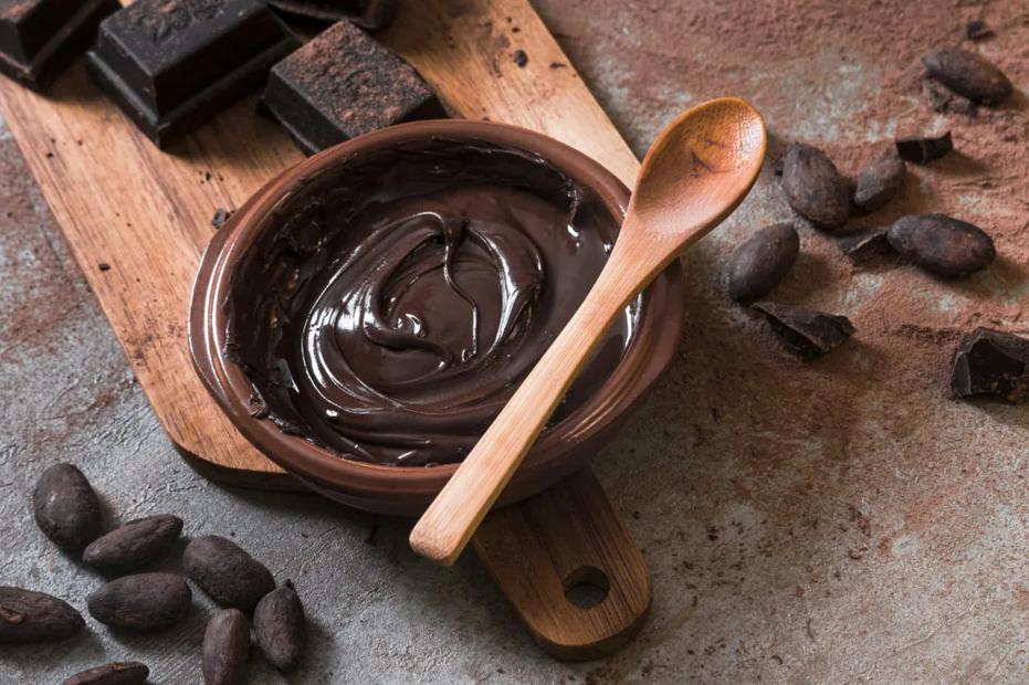 Фото черный шоколад.
