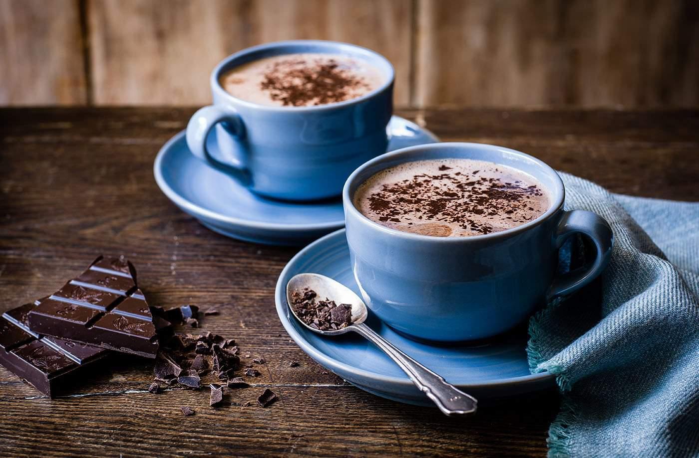 Фото горячий шоколад.