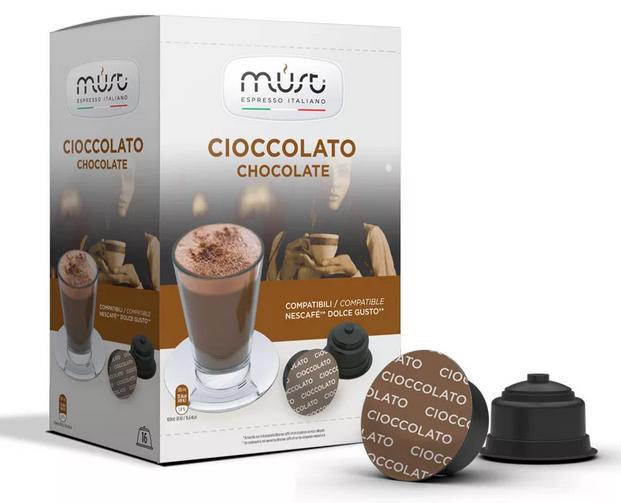 Фото капсулы шоколадные для кофемашин.