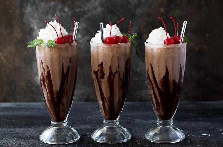 Фото коктейль с шоколадом.