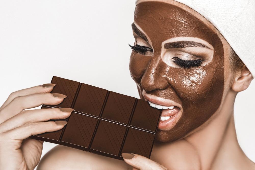 Фото маска шоколадная.