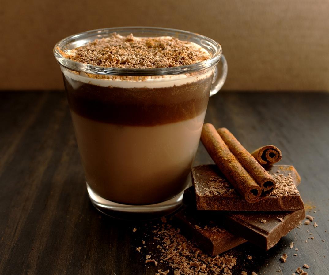 Фото подача какао.