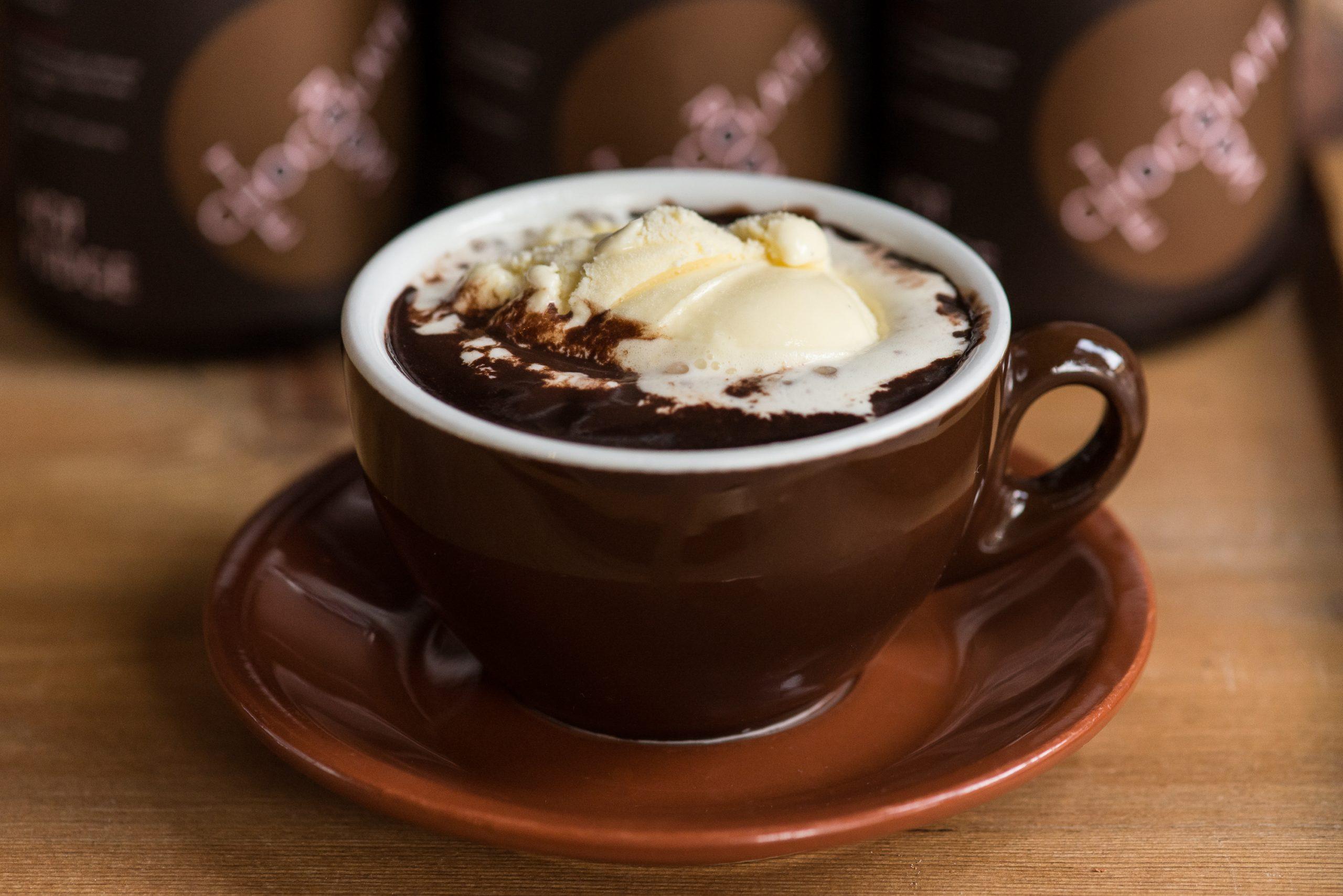 Фото шоколад с мороженым.