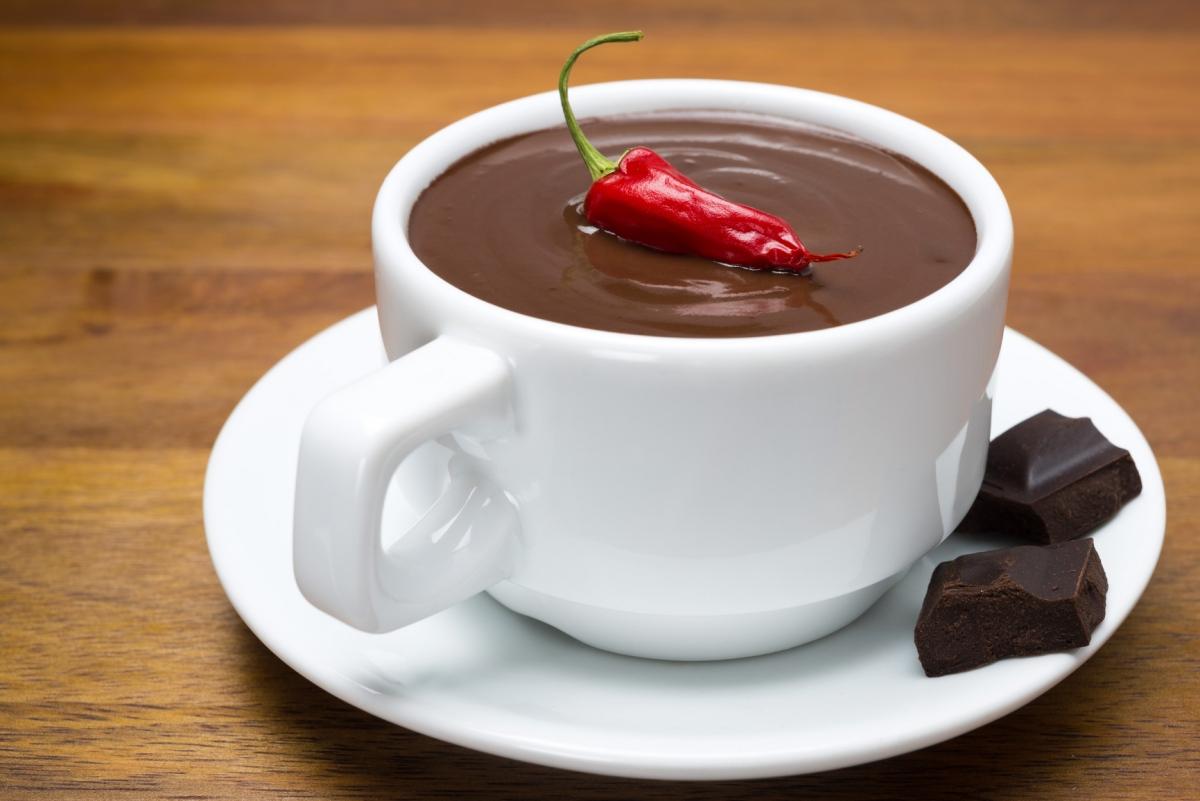 Фото шоколад с перцем.