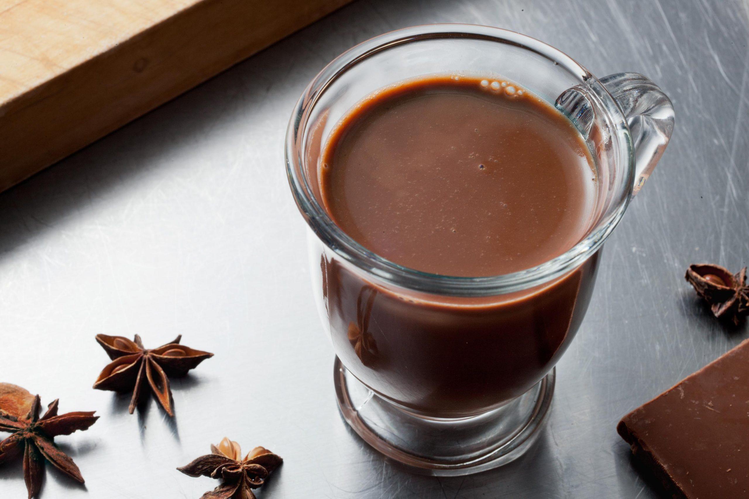 Фото шоколадный напиток.