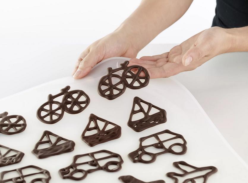 Фото Способы изготовления фигурок из шоколада.
