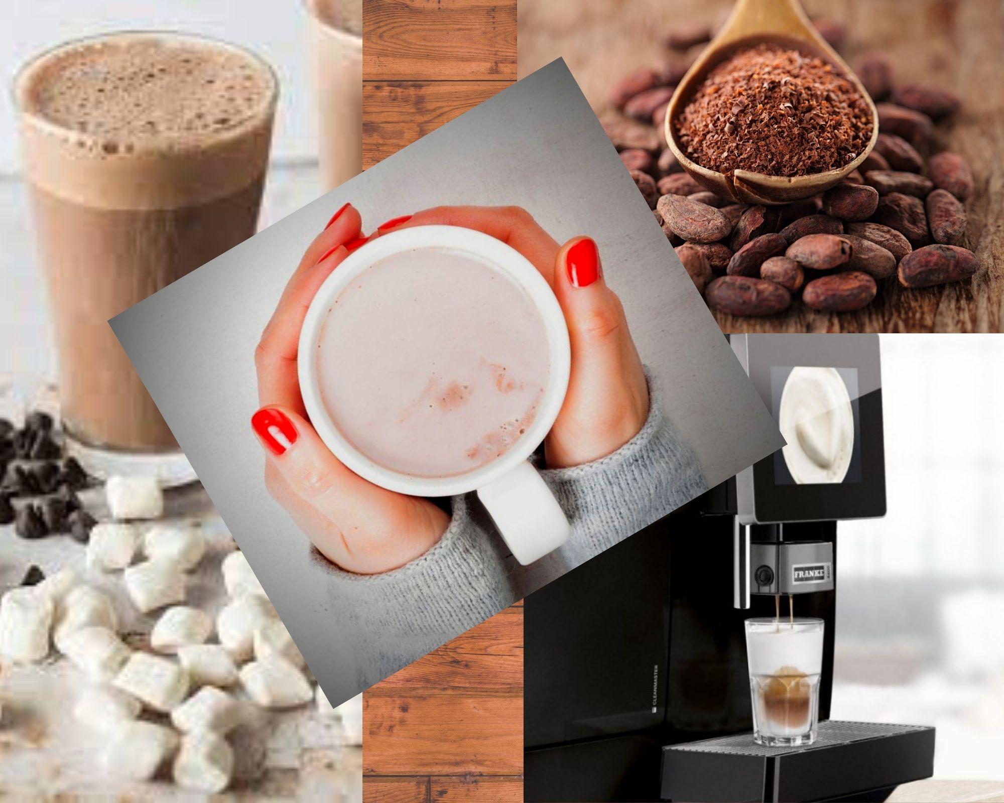 Фото Какао в чашке и ложке.