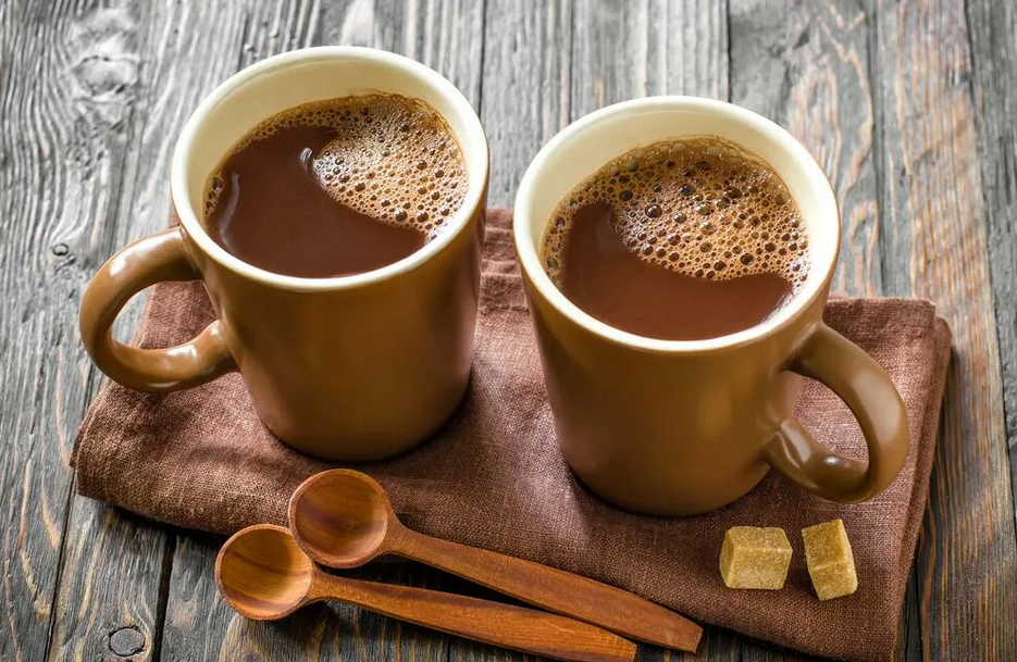 Фото готовый какао.