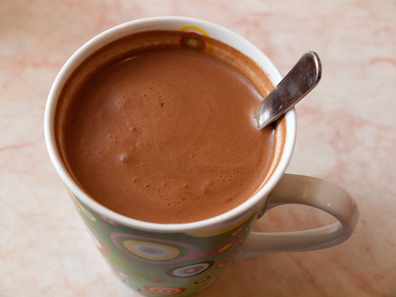 Фото напиток в чашке.