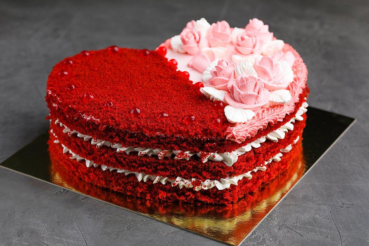 Фото сборка торта.
