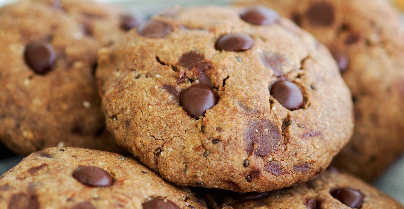 Фото шоколадное печенье.