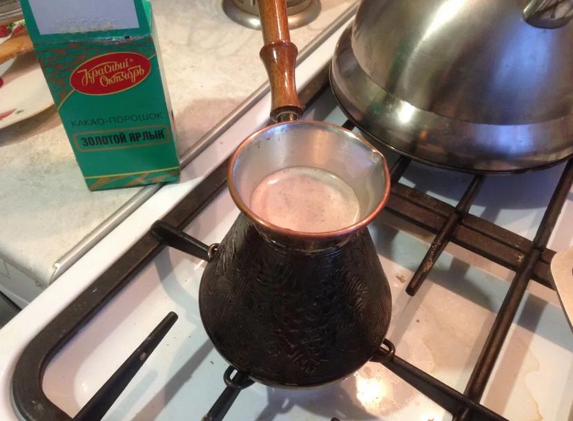 Фото варить какао.