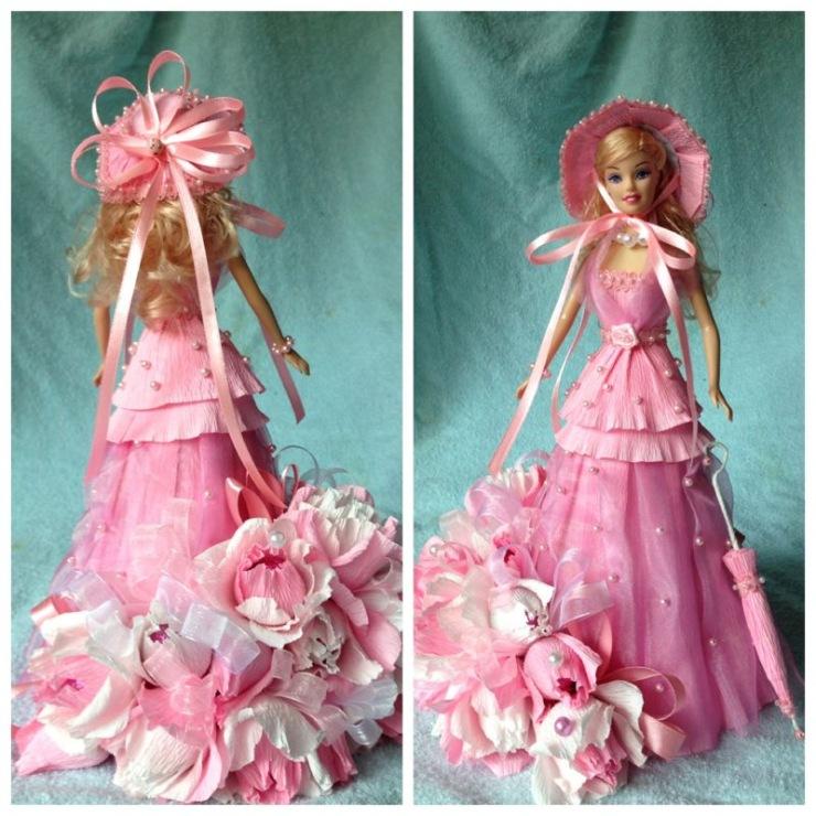 Фото кукла в платье.