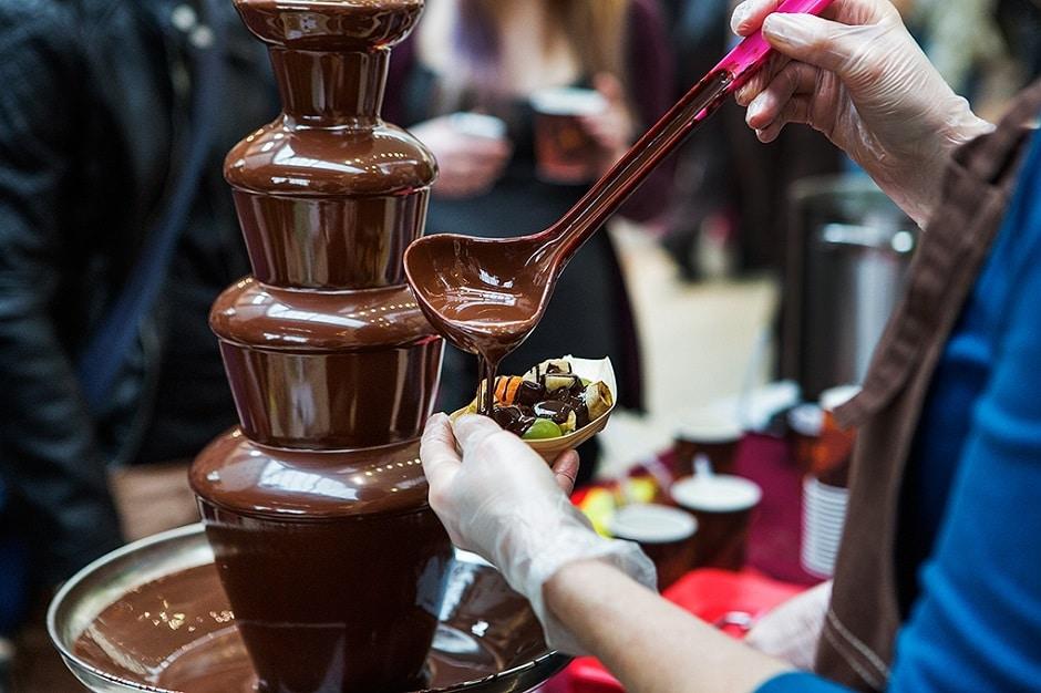 Фото шоколадный праздник.
