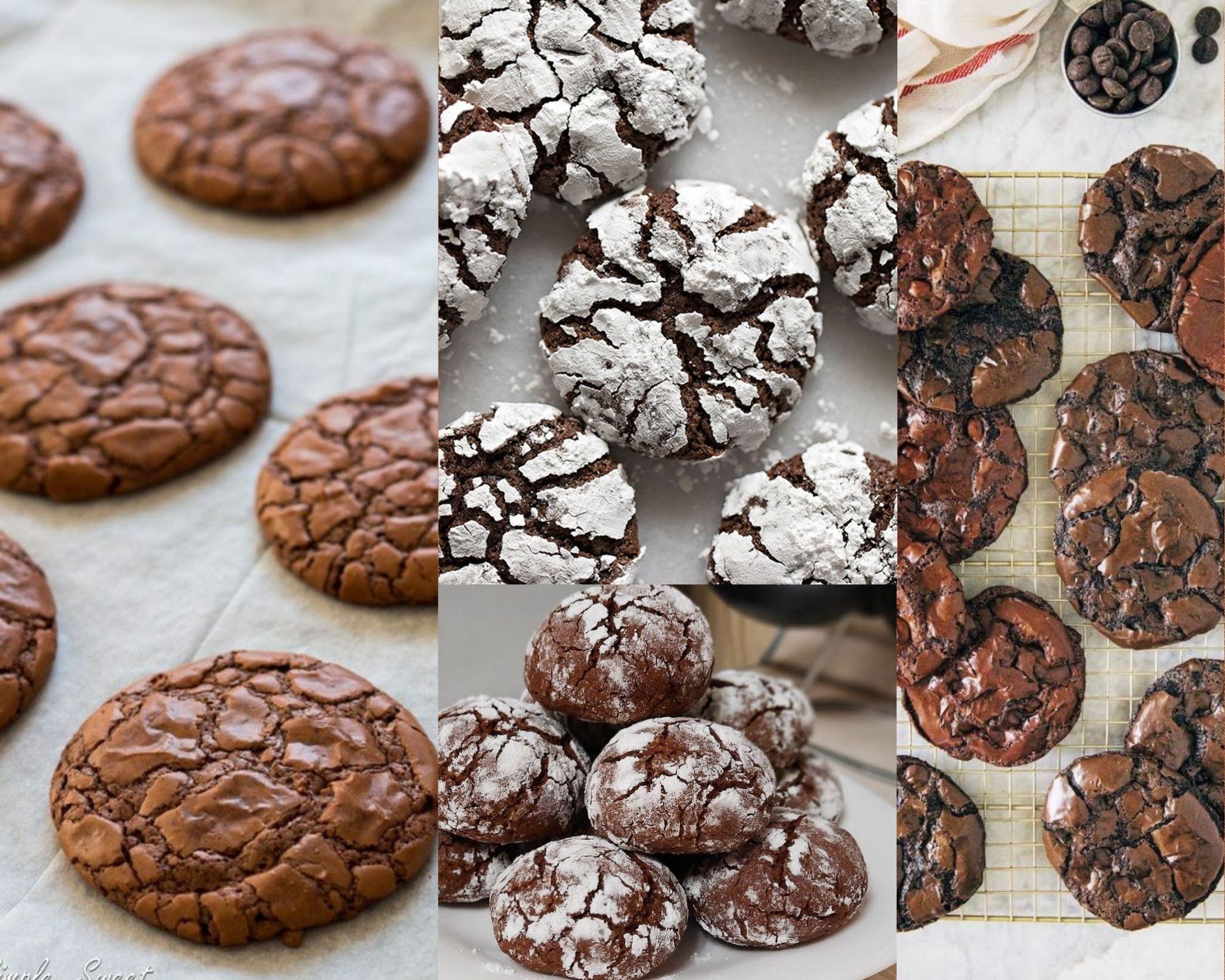 Фото Четыре вида печенья.