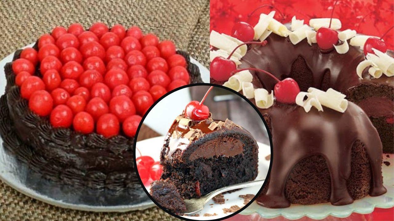 Фото Два торта и кусочек.