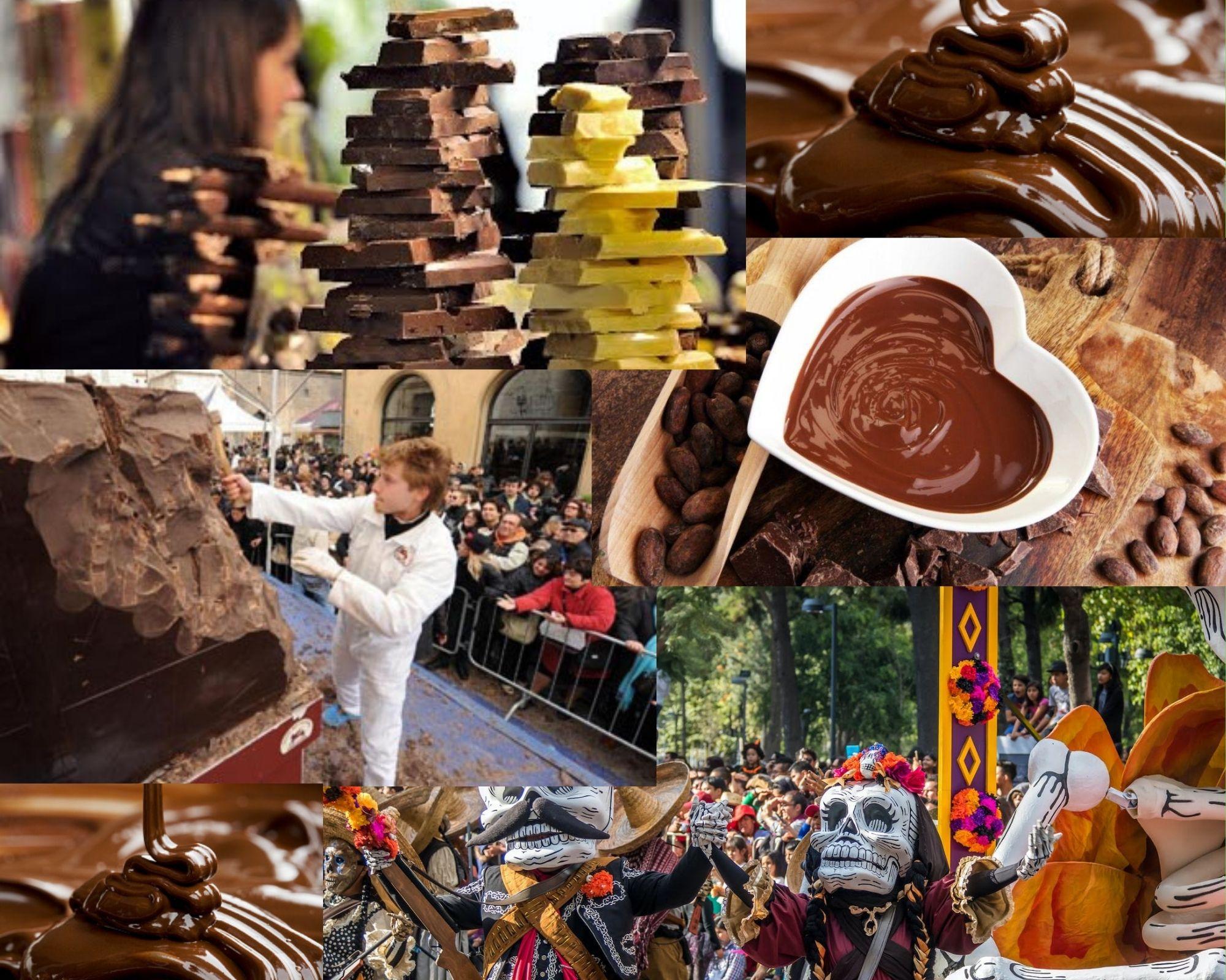 Фото Очень много разного шоколада.