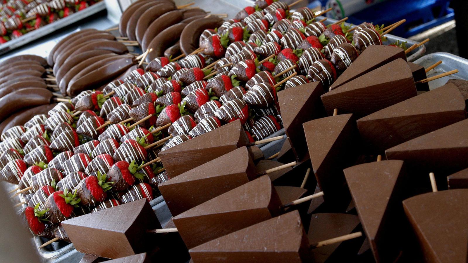 Фото Праздник Шоколадного мусса.