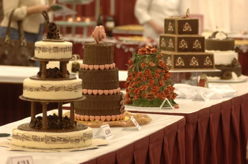 Фото Выставка тортов.