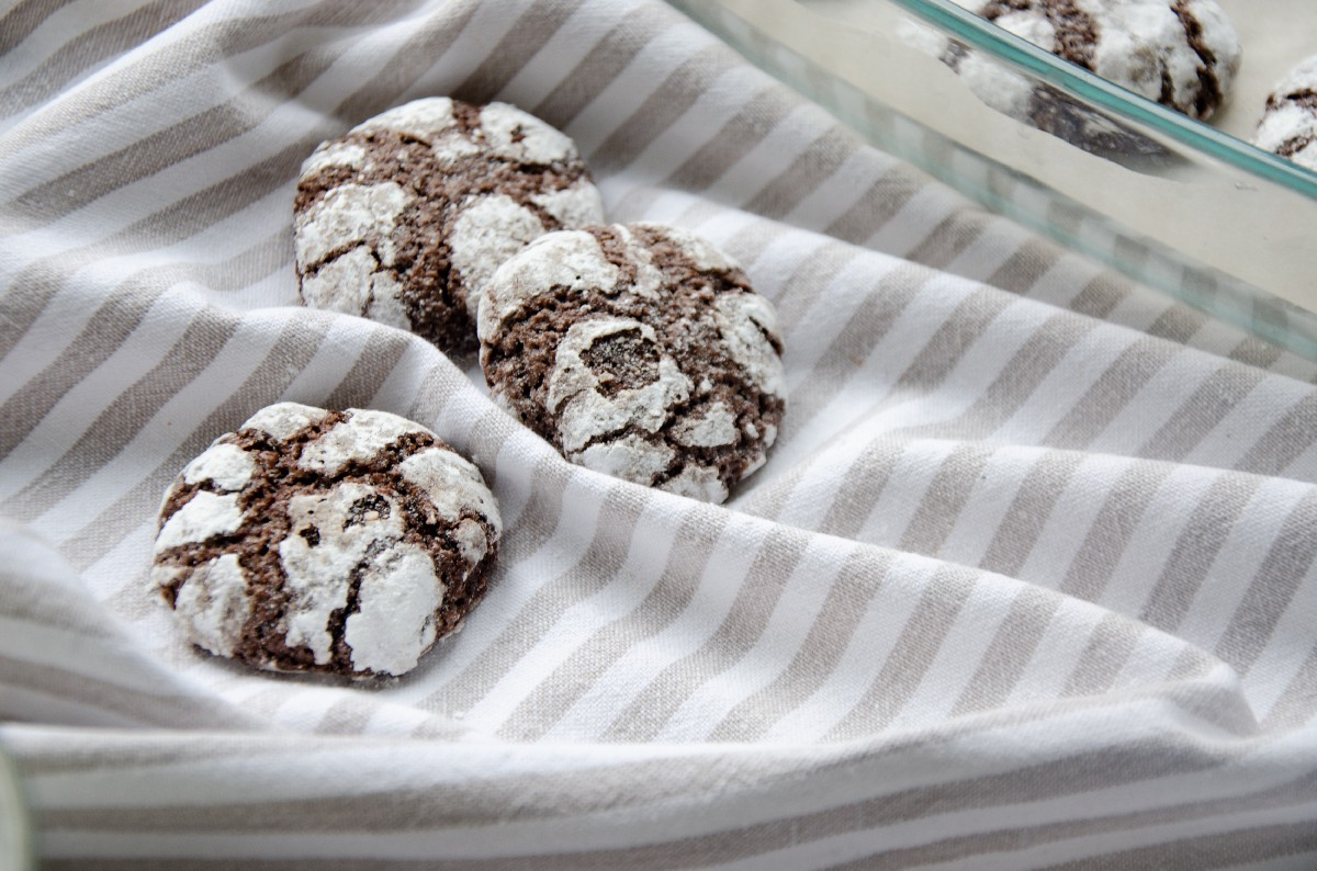 Фото печенье готовое.