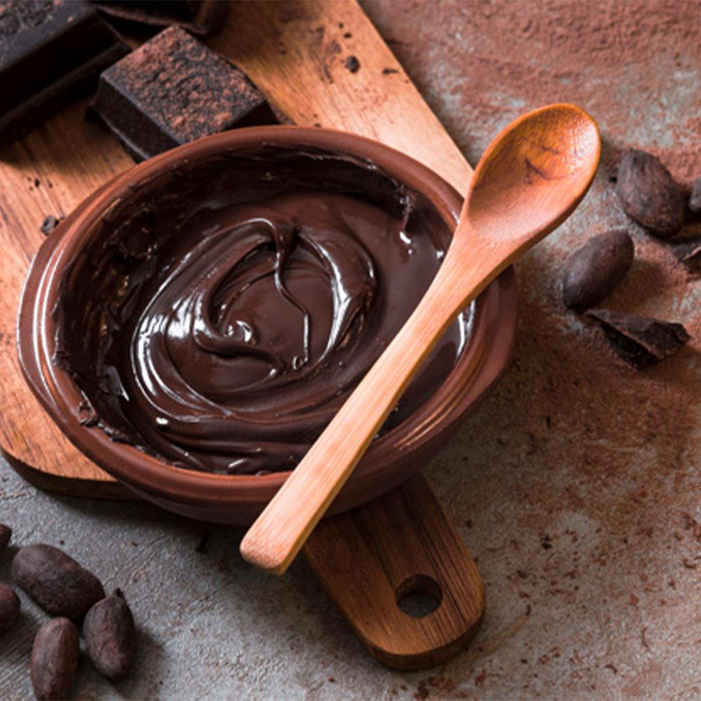 Фото приготовление шоколада.