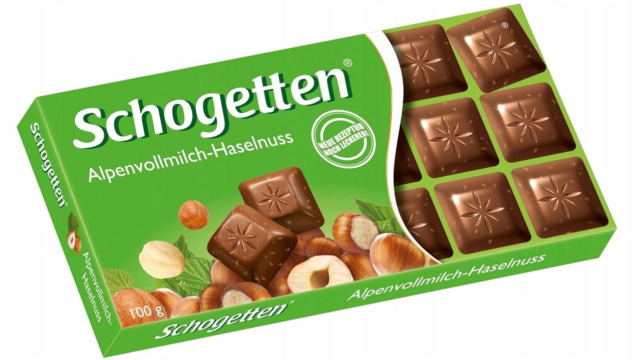 Фото Schogetten с орехами.
