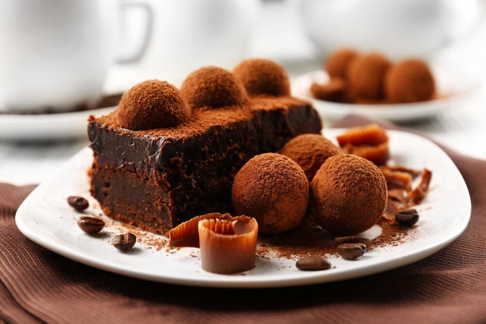 Фото шоколадный торт.