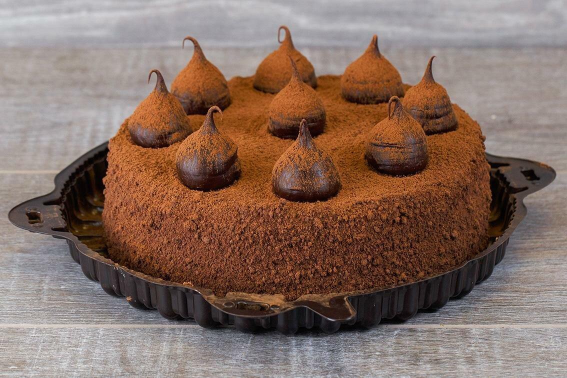 Фото торт с вишней.