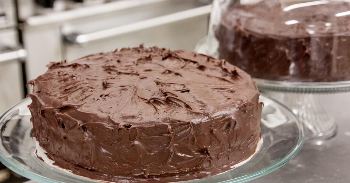 Фото торт шоколадный.