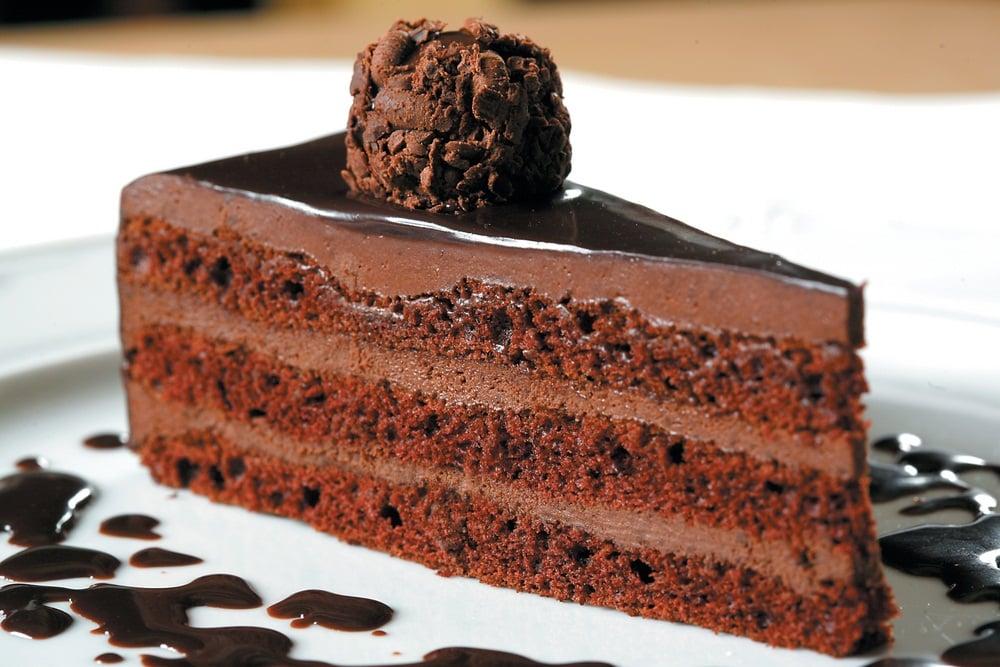 Фото торт трюфель.